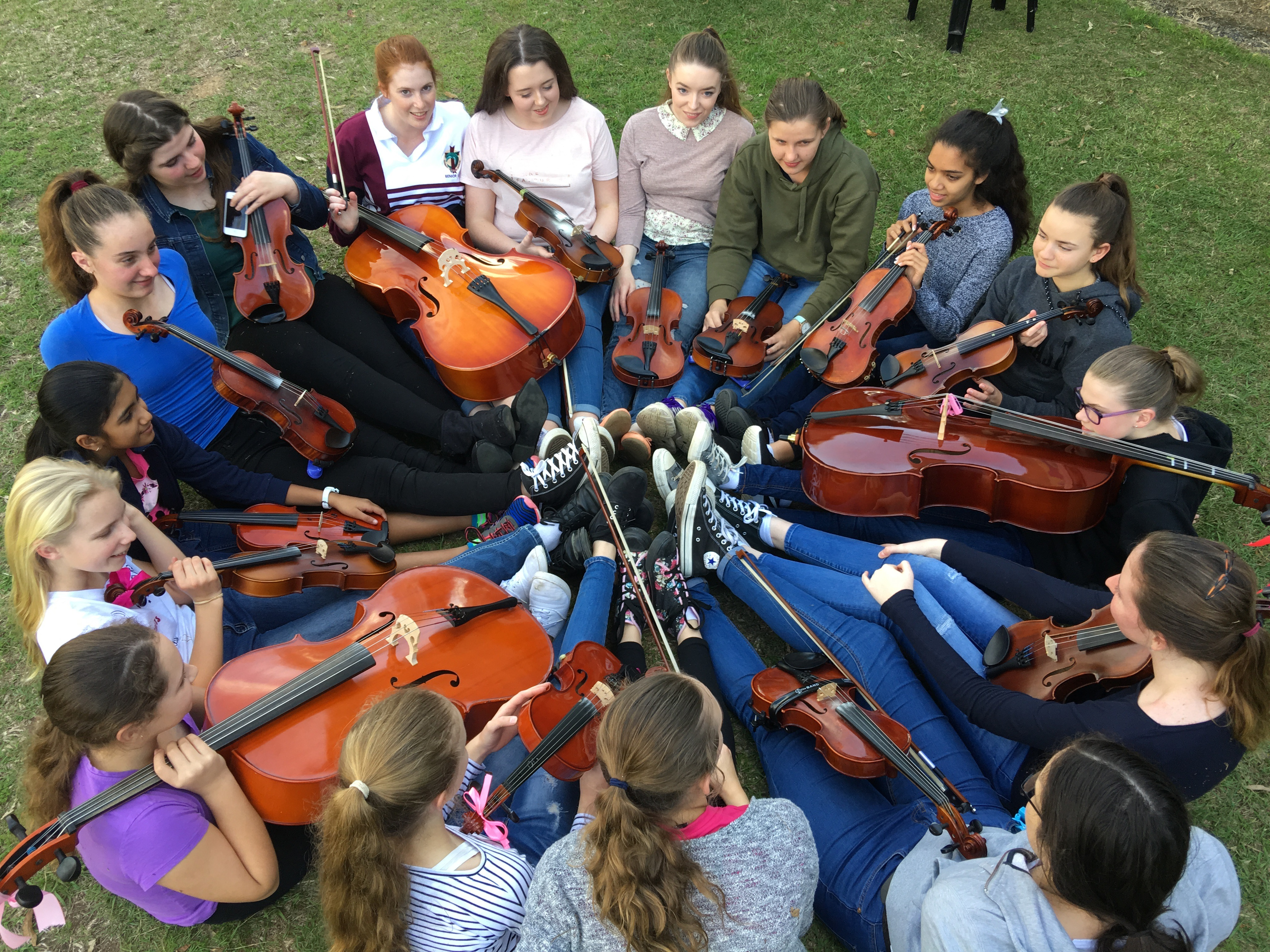 Suzuki Strings Tutor Melinda Coles St John Fisher